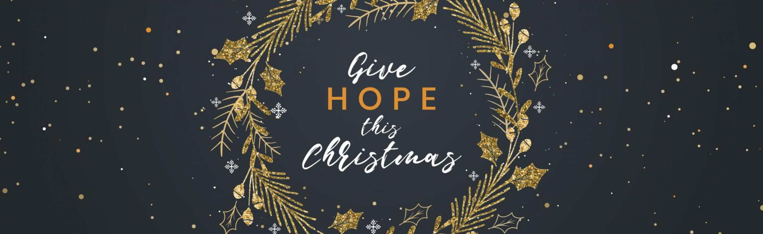 Give hope this Christmas